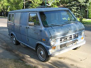 William Bonin -  A second-generation Ford Econoline van. Bonin drove an olive-green model of this van when committing his abductions