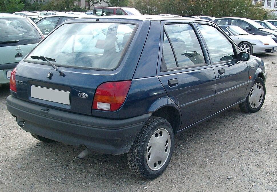 Ford Fiesta MK3 rear 20070926