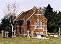 Fordingbridge Cemetery Chapel - geograph.org.uk - 1509146.jpg