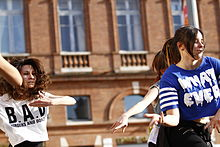 Forom des langues 2014 - Danceuses de Korean Pop (11).JPG