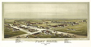 Fort Reno (Oklahoma) - Image: Fort reno oklahoma 1891