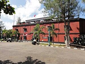 Gombong - Fort van der Wijck - Entrance