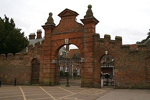 Forty Hall - Stable gateway (c.1650)