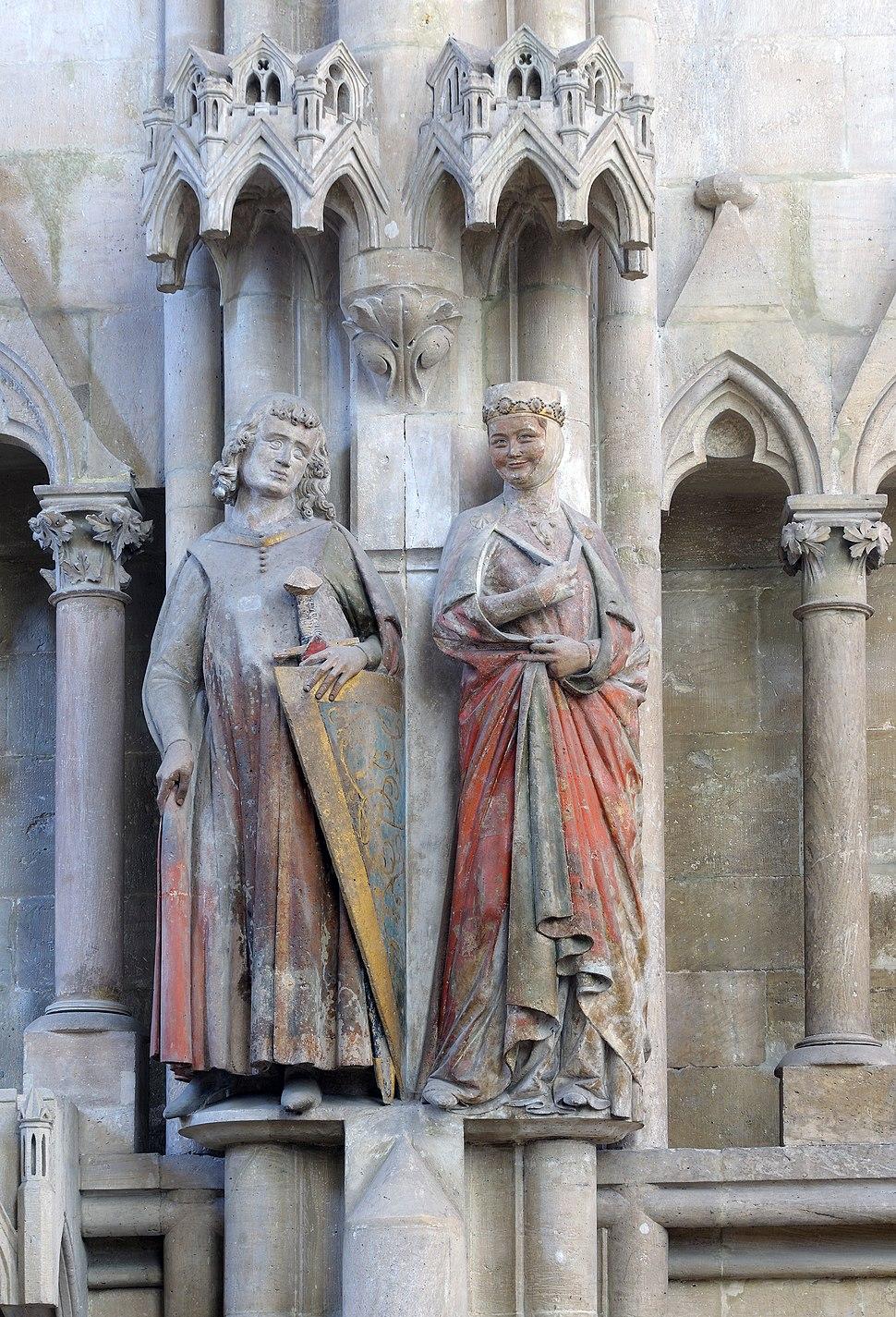 Founder figures Hermann und Reglindis