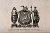 Foundling Hospital; above, the achievement of arms, below, Wellcome V0013465