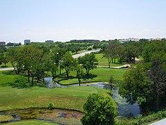 Four seasons golf course irving texas facing southwest 2009-08-12.JPG