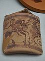 Fragment de ceràmica amb decoració figurada, tossal de sant Miquel, Museu de Prehistòria de València.JPG