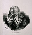 François Quesnay. Lithograph by P. R. Vignéron after J. Chev Wellcome V0004846.jpg