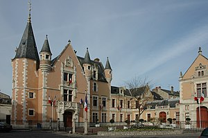 Étampes - Image: France Essonne Etampes Hotel de Ville 02