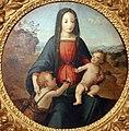 Franciabigio (attr.), tondo con la madonna col bambino e s. giovannino, 1500-20 ca. 02.JPG