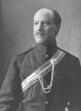 Francis Baring, 5th Baron Ashburton - 17 March 1900 in Service Dress, 2nd Lieutenant, Hampshire (Carabiniers) Yeomanry.