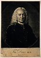 Francis Douce. Mezzotint by J. McArdell, 1752, after W. Keab Wellcome V0001636.jpg