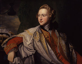 Francis Osborne, 5th Duke of Leeds - Portrait by Benjamin West, circa 1769