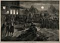 Franco-Prussian War; French wounded being treated at Metz. W Wellcome V0015452.jpg