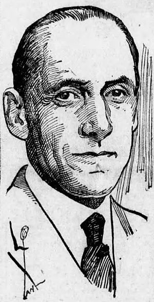 Frank D. Scott - From the September 27, 1925 edition of the Arizona Daily Star newspaper.