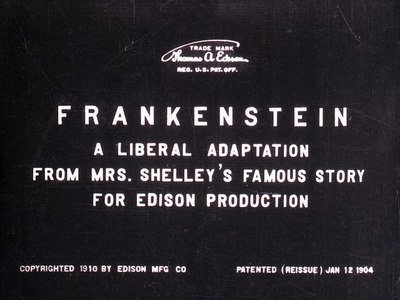 File:Frankenstein - Edison Mfg. Co., 1910.webm