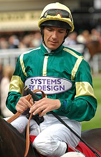 Frankie Dettori Italian jockey