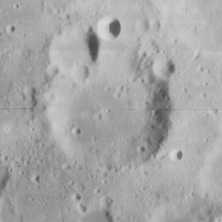 Fraunhofer (crater) lunar crater