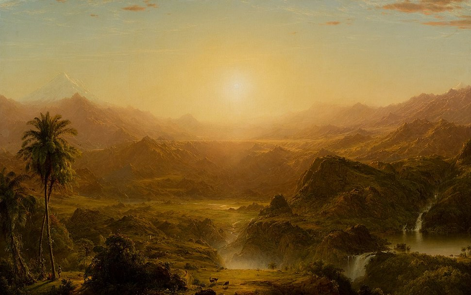 Frederic Edwin Church, The Andes of Ecuador, c. 1855, HAA