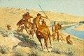 Frederic Remington - Episode of the Buffalo Gun - 43.22 - Museum of Fine Arts.jpg