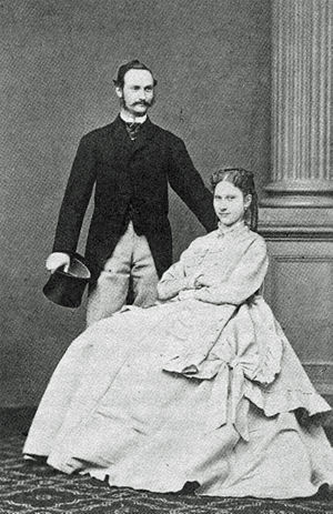 Frederick VIII of Denmark - Crown Prince Frederick and Princess Louise of Sweden