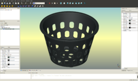 FreeCAD r4739 Mesh pot.png