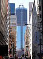 Freedom Tower view from Fulton Street.JPG