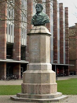 Karl von Rotteck - Freiburg bust