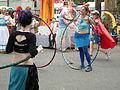 Fremont Solstice Parade 2008 - hula hoops 01.jpg