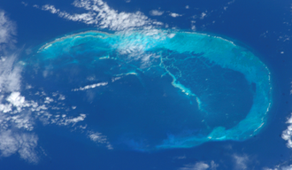 French Frigate Shoals - May, 2002 NASA picture of the French Frigate Shoals