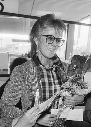 Anni-Frid Lyngstad - Lyngstad in Amsterdam, The Netherlands, October 1982