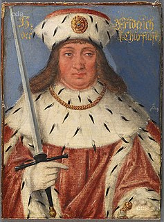 Frederick I, Elector of Saxony Elector of Saxony