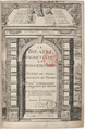 Frontispiece of 'Le Théâtre d'Agriculture', 3rd ed, 1605, by Olivier de Serres - Gallica 2011.png
