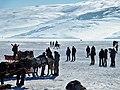 Frozen Cildir lake.jpg