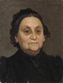 Fru Hilda Schönthal (1824-1892), förstudie till Under kastanjen (Eva Bonnier) - Nationalmuseum - 129463.tif