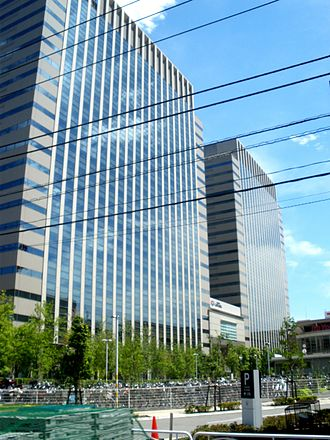 Resona Holdings - Resona Holdings headquarters in Koto, Tokyo, Japan