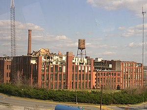 Fulton Bag and Cotton Mills - Damage from 2008 tornado