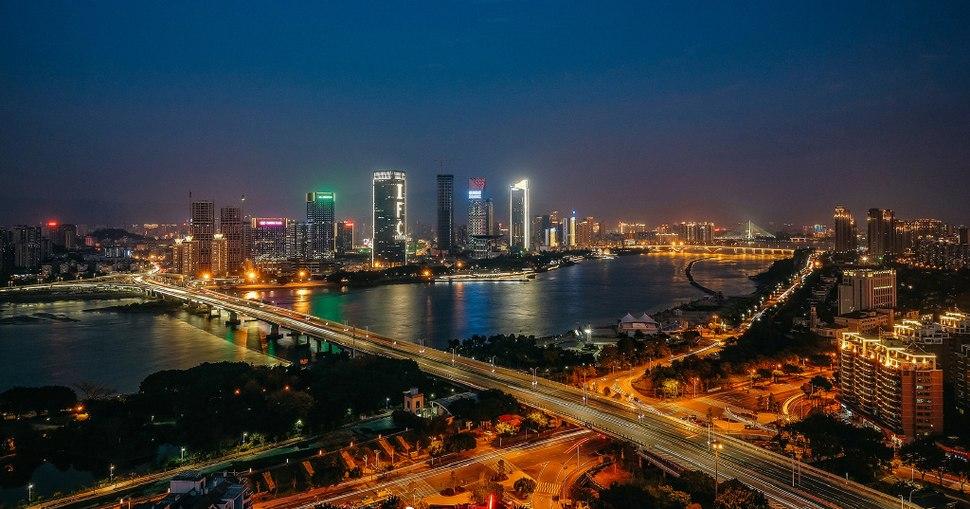 Fuzhou Cityscape (Taixi CBD)