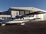G-ENCE Partenavia P68B Exeter Flights Ltd (31416570336).jpg