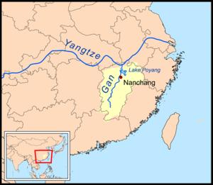 Gan River - Image: Ganrivermap