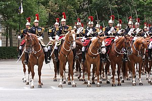 National Gendarmerie - Garde républicaine cavalry