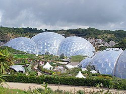 Gardens and biodomes, the Eden Project - geograph.org.uk - 1199082.jpg