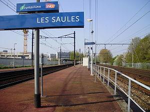 Les Saules Station - Platforms
