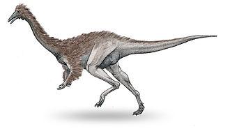 1981 in paleontology - Garudimimus