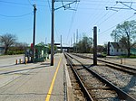 Gary Chicago Airport at Clark Road station (26552376362).jpg