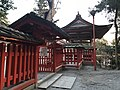 Gate and fence of Kashii Shrine.jpg