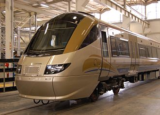 Derby Litchurch Lane Works - Gautrain EMU in South Africa