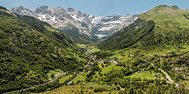 The commune of Gavarnie, and Cirque de Gavarnie