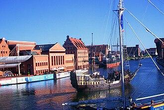 Polish Baltic Philharmonic - Polish Baltic Philharmonic on the Motława river