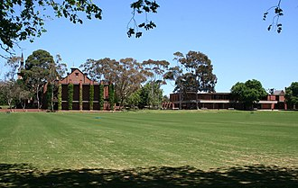 Geelong College - Main Oval at the Senior School